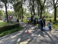 Fietser bewusteloos na botsing met andere fietser