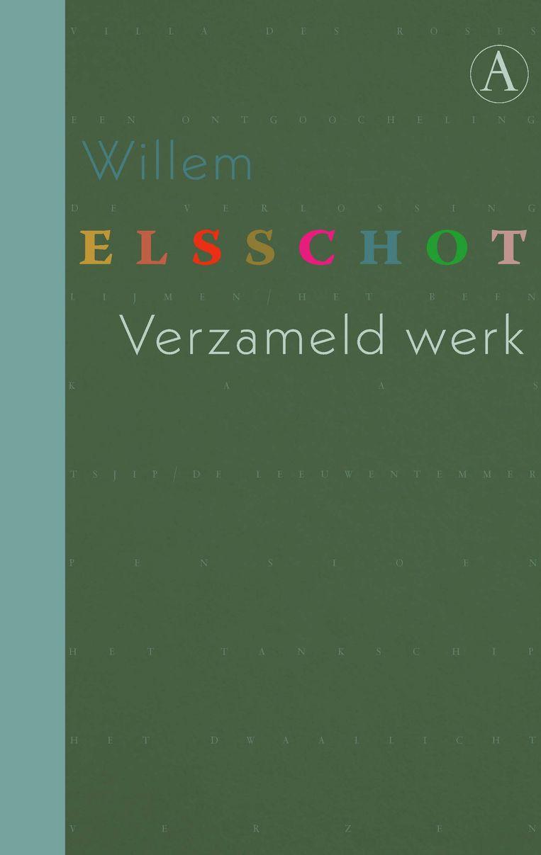 Willem Elsschot: Verzameld werk. Ontwerp Ilona Snijders. Athenaeum; € 50.  Beeld