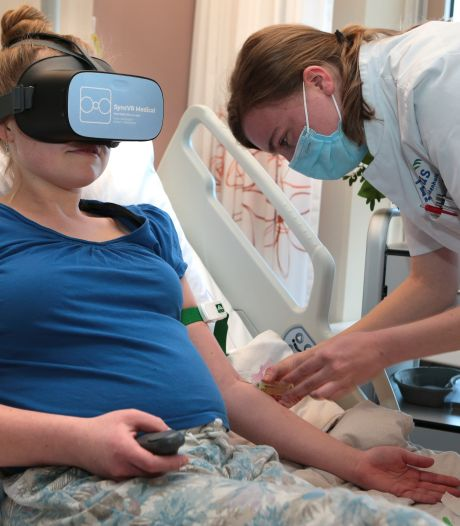 Vanuit ziekenhuisbed ineens tussen de zeehonden: VR-bril helpt patiënten pijn vergeten