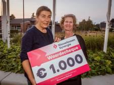 Geen windmolenfeest, wel cheque van duizend euro voor tien clubs in Nieuwleusen