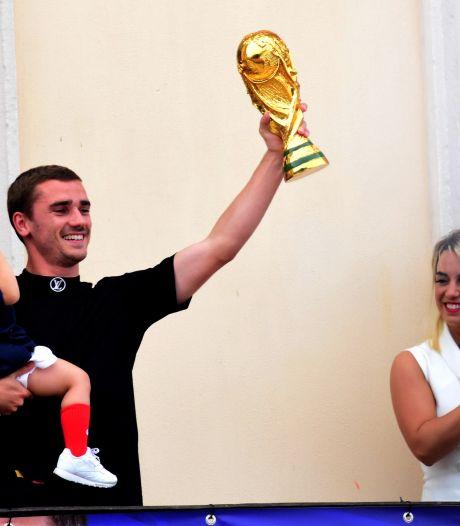 Antoine Griezmann annonce l'arrivée d'Alba, son troisième enfant né un 8 avril