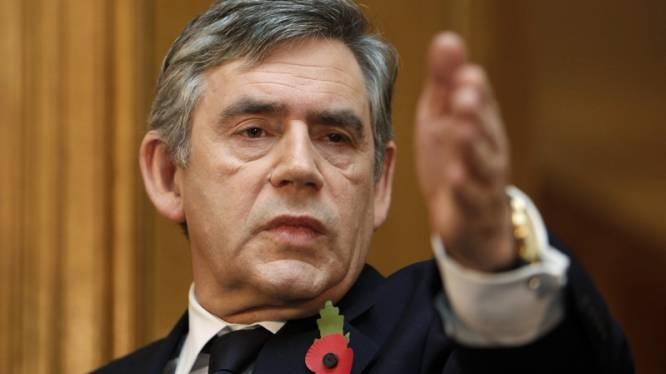 """Brown: """"Blair is enige Britse kandidaat voor EU-topjobs"""""""