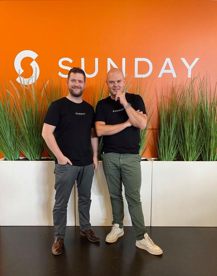 Niels Vandecasteele en Steven Callens.