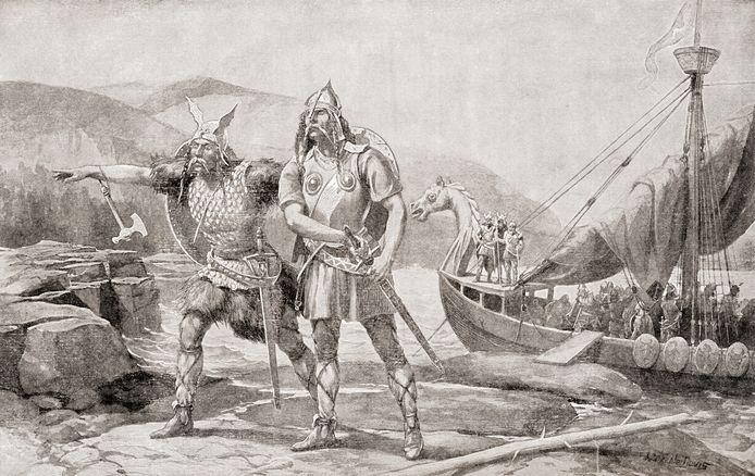 Vikingen zetten, na de oversteek van de Atlantische Oceaan, al in de 11de eeuw voet aan wal op de westkust van Noord-Amerika. Columbus deed pas vier eeuwen later hetzelfde.