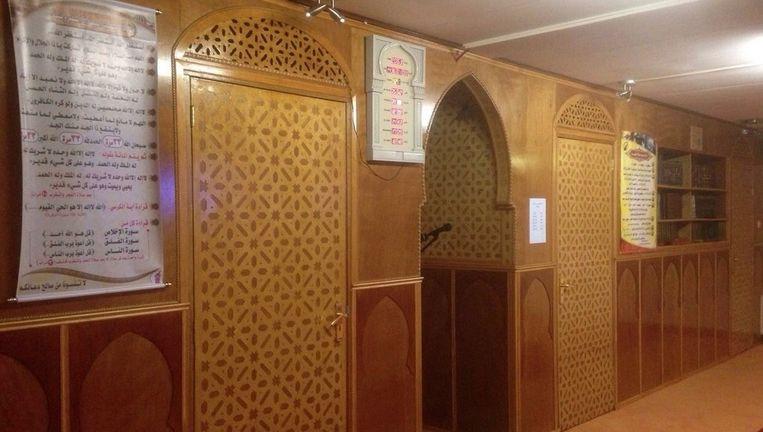 Arrayan is nu nog gevestigd in noodgebouwen aan de IJdoornlaan. De moskee groeit uit zijn jasje. Beeld Moskee Arrayan