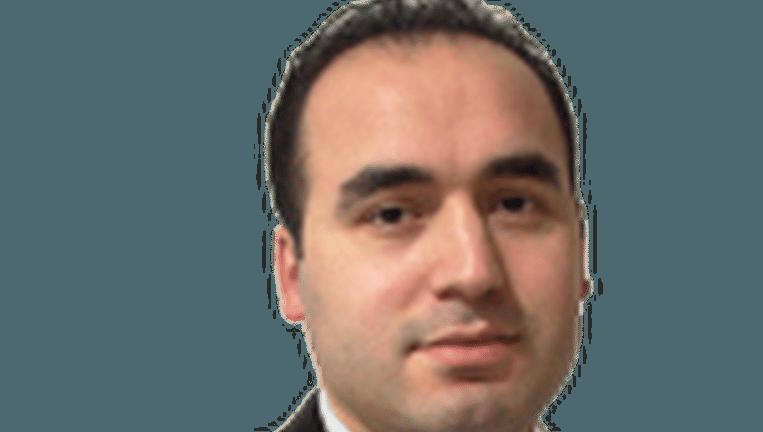 Ibrahim Anaz, een van de woordvoerders van Fedactio en de Gülen-beweging in Vlaanderen.