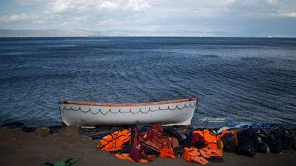 Vluchtelingenstroom naar Griekenland op laagste niveau sinds lang