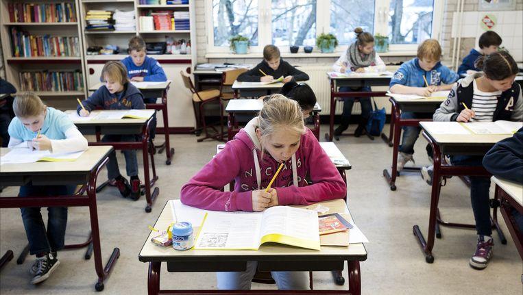Laat scholen zelf bepalen hoe de schoolloopbanen van leerlingen eruitzien, betoogt Herman van de Werfhorst. Beeld anp