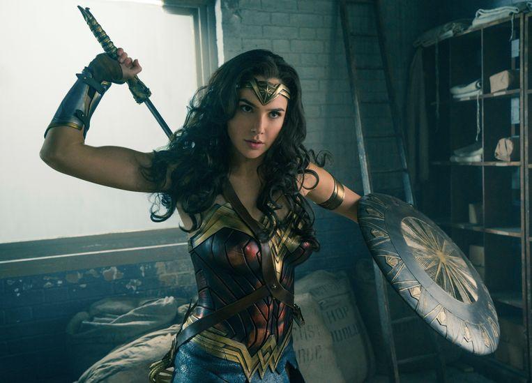 Gal Gadot in 'Wonder Woman'. Beeld AP