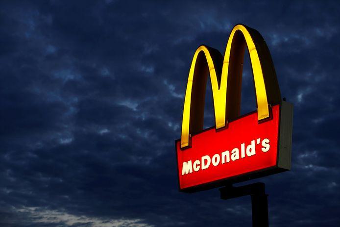 Logo McDonald's in Californië
