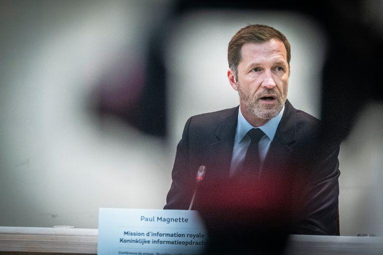 PS-voorzitter Paul Magnette. Beeld Tim Dirven