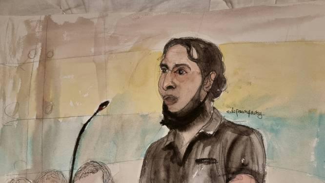 """Eerste speurder die getuigt op proces rond aanslagen Parijs al onderbroken door Abdeslam: """"Meneer, als u zo voortdoet, zal u vertrekken"""""""