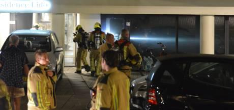 Politie zoekt naar brandstichter woningcomplex in Scheveningen