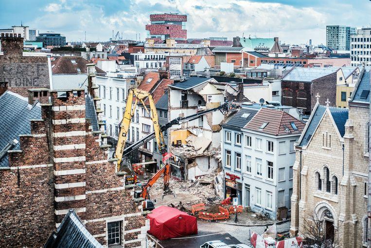 In januari kwam de dienst in opspraak nadat een ontploffing van een huis op de Paardenmarkt het leven aan twee bewoners kostte Beeld Bob Van Mol