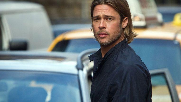 Brad Pitt in World War Z van Marc Forster. Beeld