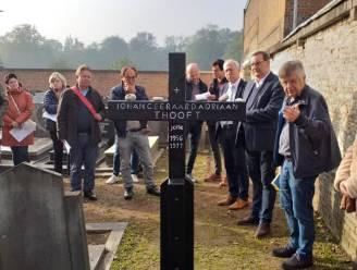 Stad zal zelf graf van dichter Jotie T'Hooft onderhouden
