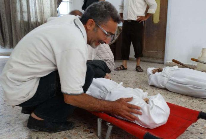L'ONG est ainsi la première source indépendante à confirmer l'utilisation d'armes chimiques dans la région de Damas.