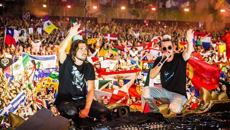 Dimitri Vegas en Like Mike op Tomorrowland Beeld James Arthur