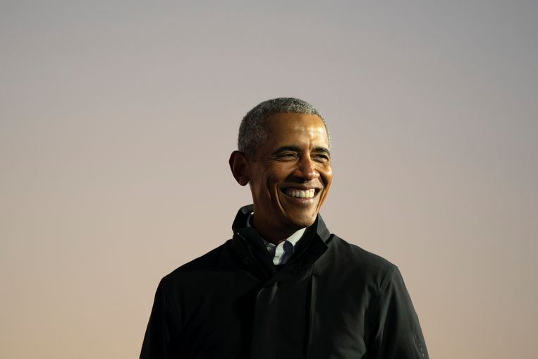Voormalig president Barack Obama.  Beeld Getty Images