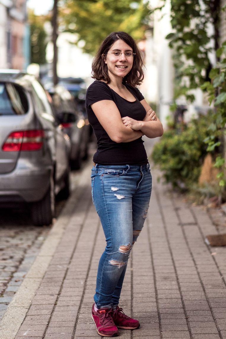 Cristina Abalos Calvo. Beeld Tine Schoemaker