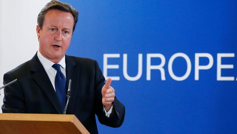 David Cameron. Beeld BELGA