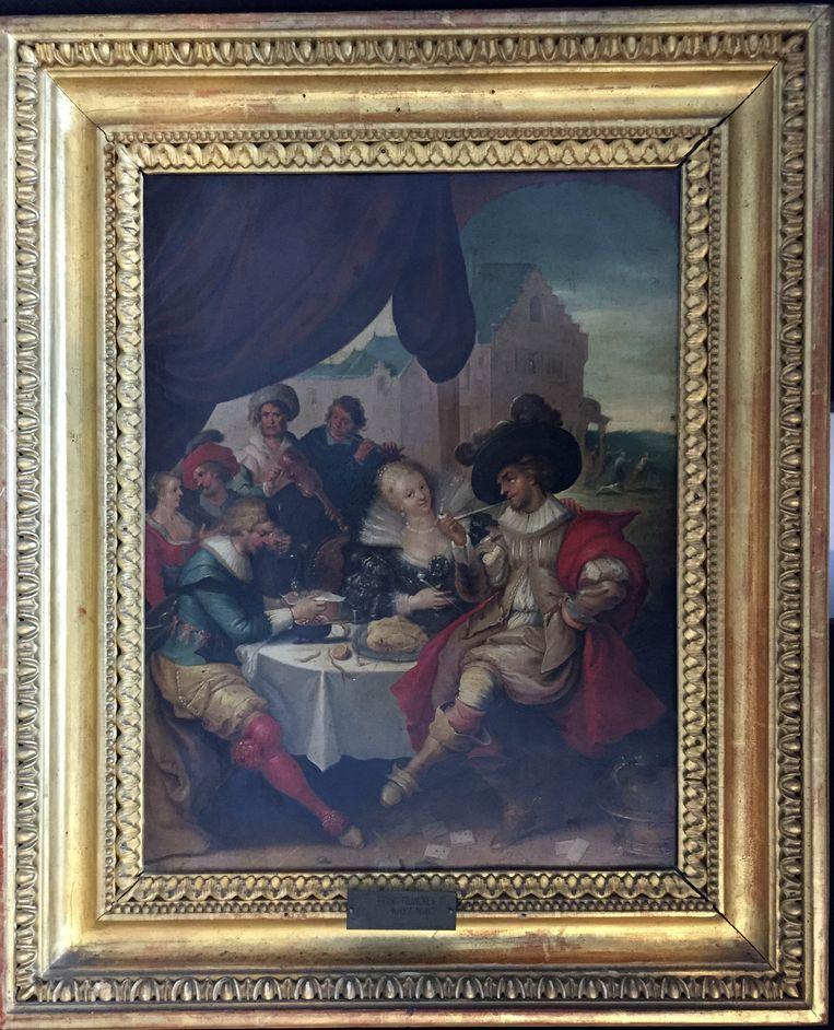 De schilderij van de Vlaamse kunstenaar Frans Francken. Beeld ap