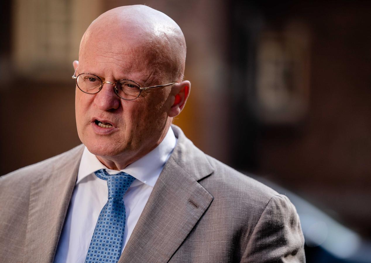 Demissionair Minister Ferd Grapperhaus van Justitie en Veiligheid.