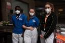Studenten zorg van het Sint Jozef Instituut lopen stage in Armonea.
