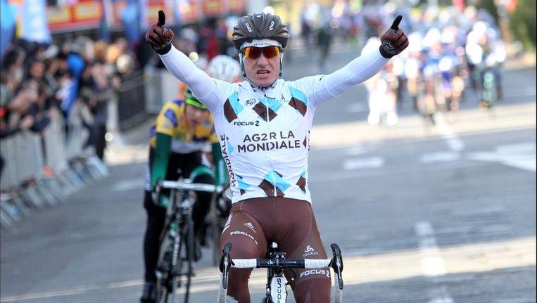 Samuel Dumoulin opende het jaar van AG2R goed. Beeld PHOTO_NEWS