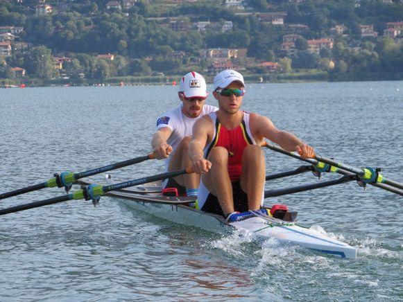 Vooran Niels van Zandweghe, achteraan Tim Brys.