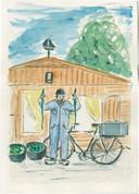 Johnny van Voren: Zwart was de nacht maar rijk was de buit, in het boek 'Tussen water en wind'.