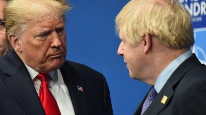 """Johnson en Trump spreken over """"ambitieus vrijhandelsakkoord"""""""