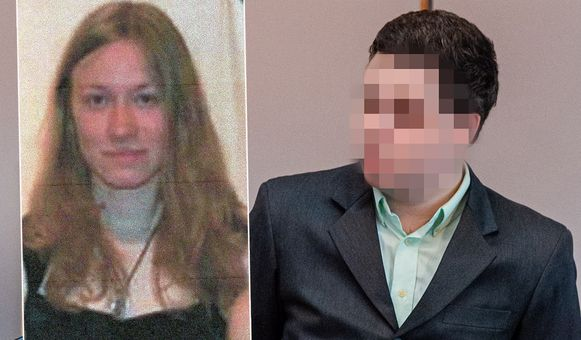 Slachtoffer Shashia Moreau en vermoedelijke dader Jonny Van Den Broeck.