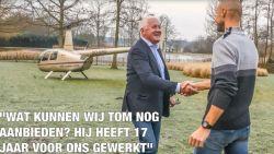 Exclusief bij HLN: wij landen met helikopter van Patrick Lefevere in de tuin van Tom Boonen