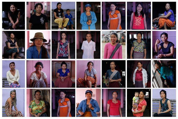 In 2011 poseerden 28 echtgenotes van Ziona voor de lens.