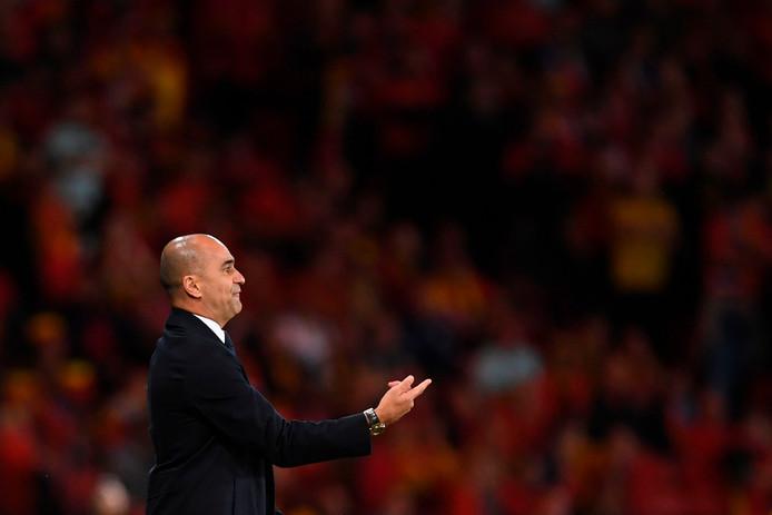 Roberto Martinez a particulièrement apprécié la réaction de ses joueurs après un mauvais match à Saint-Marin.