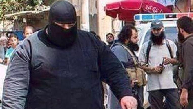Deze IS-strijder kreeg de bijnaam 'Bulldozer van Fallujah'.