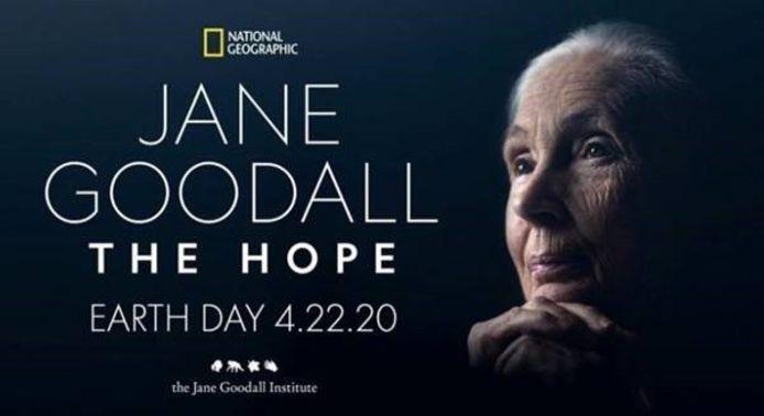 Jane Goodall 'The Hope'.