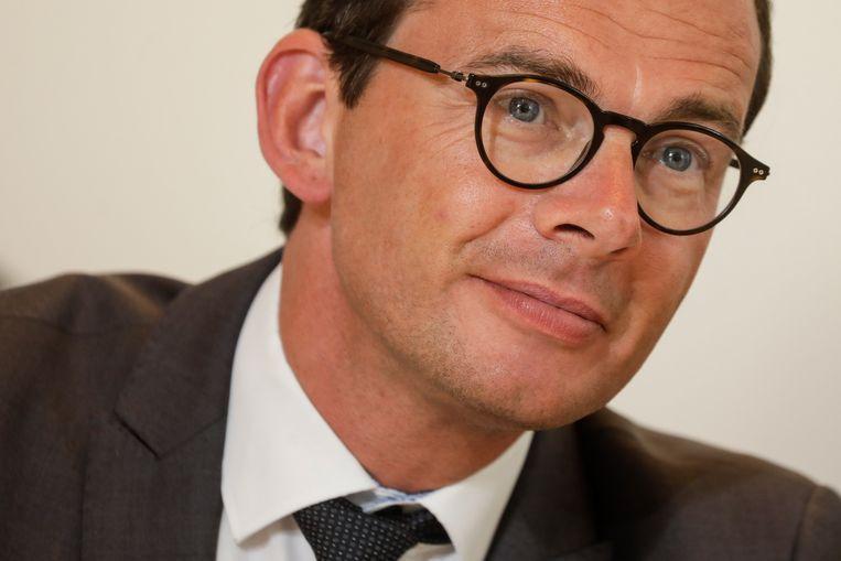 Federaal minister van Werk Wouter Beke (CD&V)