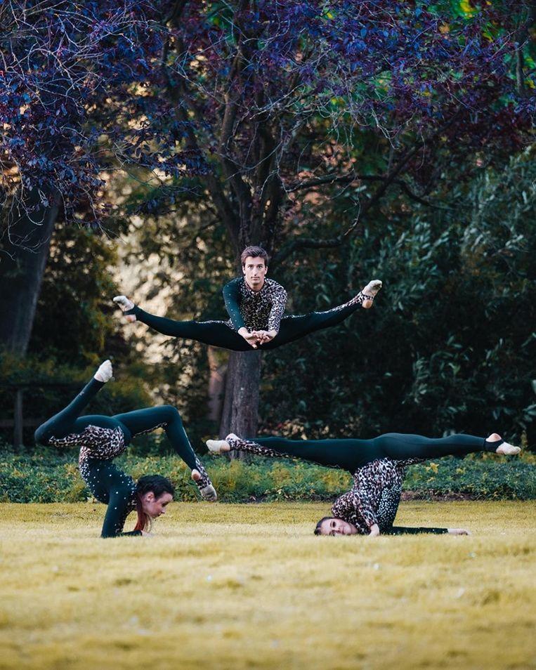 Studio Adagio in Belgium's Got Talent - dansers: Laurens, Femke en Michelle