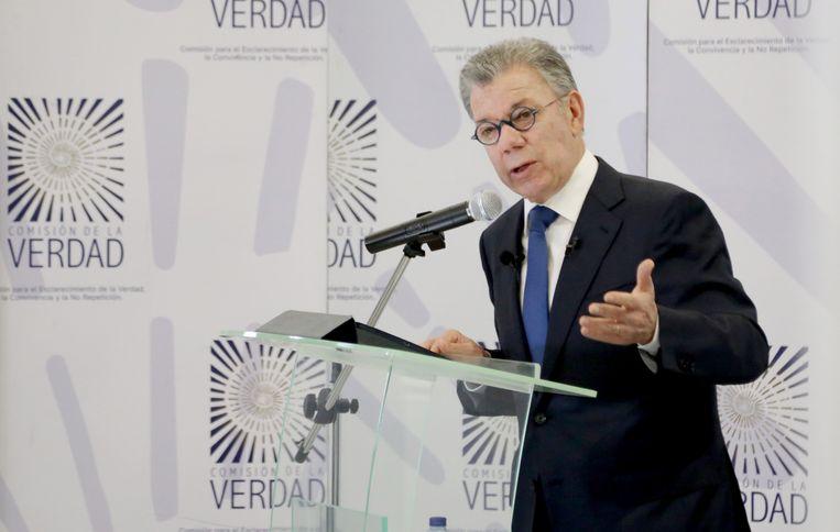 Juan Manuel Santos. Beeld EPA