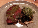 Entrecote met chimichurrie.