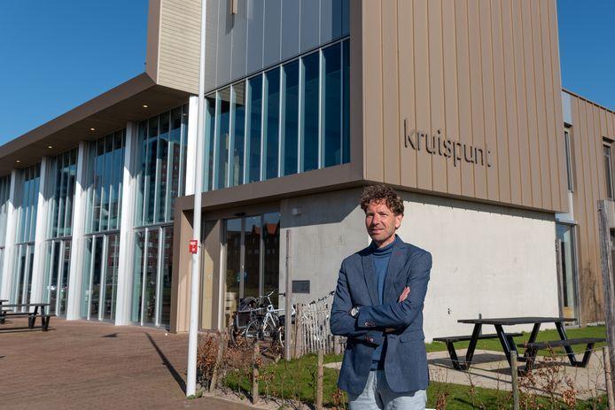 Jaap Hansum, predikant van de protestantse kerk Kruispunt in Vathorst.