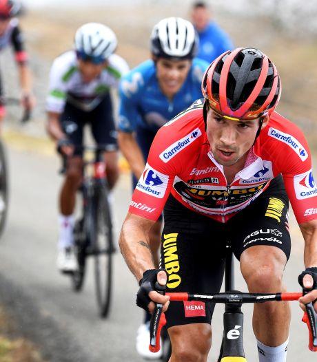 Alleen ongeluk kan Roglic nog van zege houden na succesvol machtsspel in Vuelta