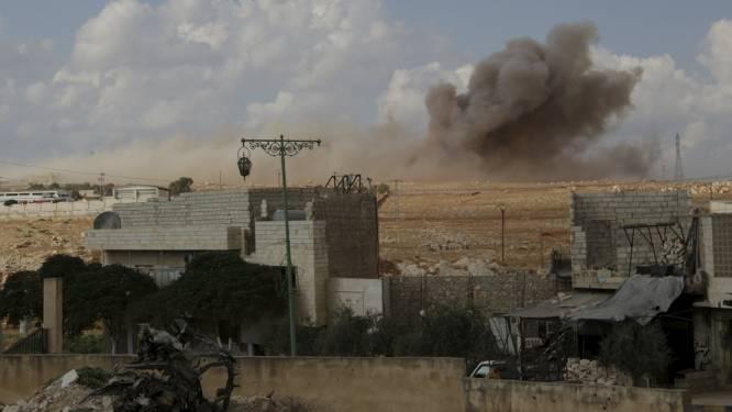 Groot offensief tegen rebellen in noordwesten Syrië