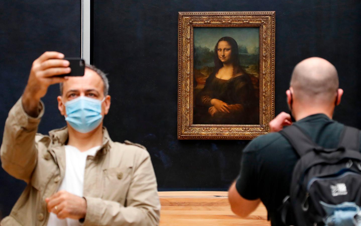 Leonardo da Vinci's meesterwerk Mona Lisa