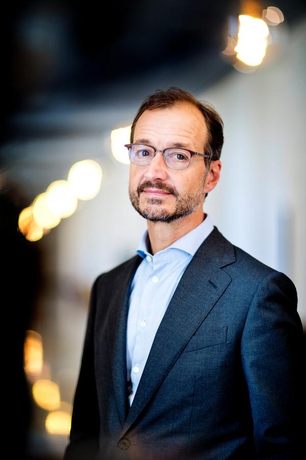 DEN HAAG - Eric Wiebes (VVD) - Minister van Economische Zaken en Klimaat  - FOTO GUUS SCHOONEWILLE