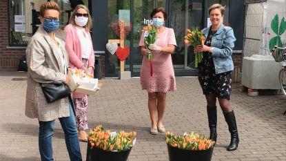 Zonta Waasland bezorgt bloemen aan woonzorgcentra Hofstede en Sint-Jozef