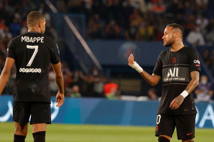 Des fritures sur la ligne entre Kyllian Mbappé et Neymar?