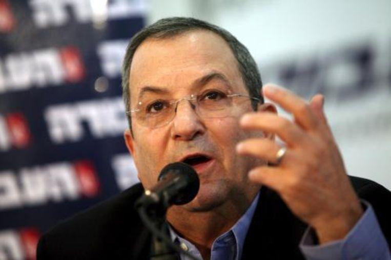 Minister van Defensie Ehud Barak keert mogelijk terug op zijn post in een nieuwe regering onder leiding van Likoed-leider Benjamin Netanyahu. Foto ANP Beeld